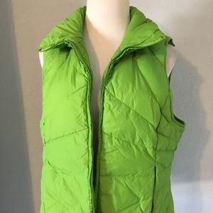 Kenneth Cole Reaction Women's Green Puffer Vest